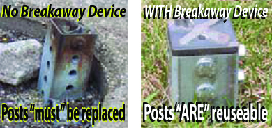 no breakaway device
