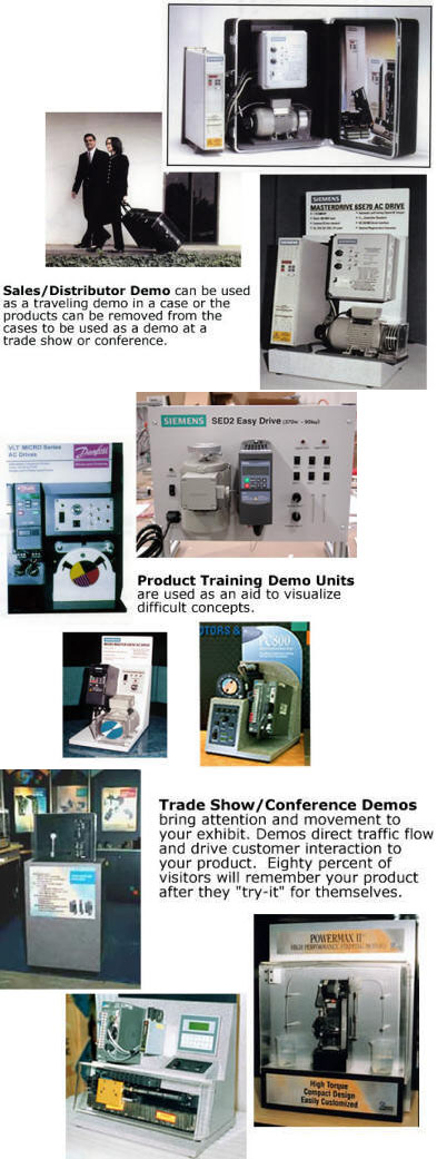 product demonstration units